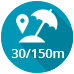picto-distance-mer-30-150m